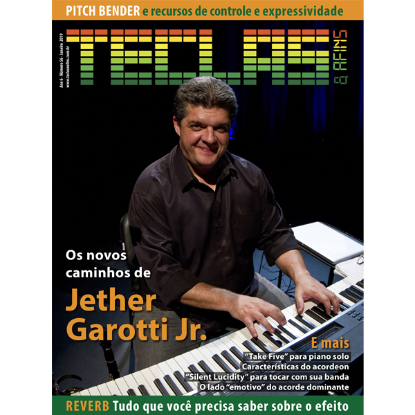 Teclas & Afins 57 - Jether Garotti Jr.