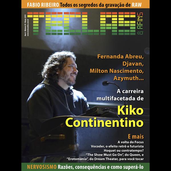 Teclas & Afins 59 - Kiko Continentino